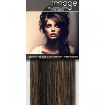 IMAGE 16 Deluxe Clip in Hair Extensions
