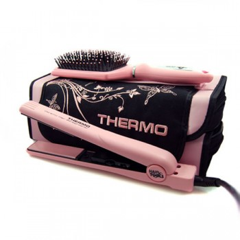 hair tools pink thermo ceramic